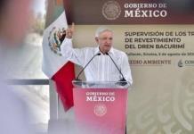 AMLO presume en Culiacán, disminución en homicidios