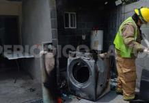 Se incendia tanque por fuga de gas